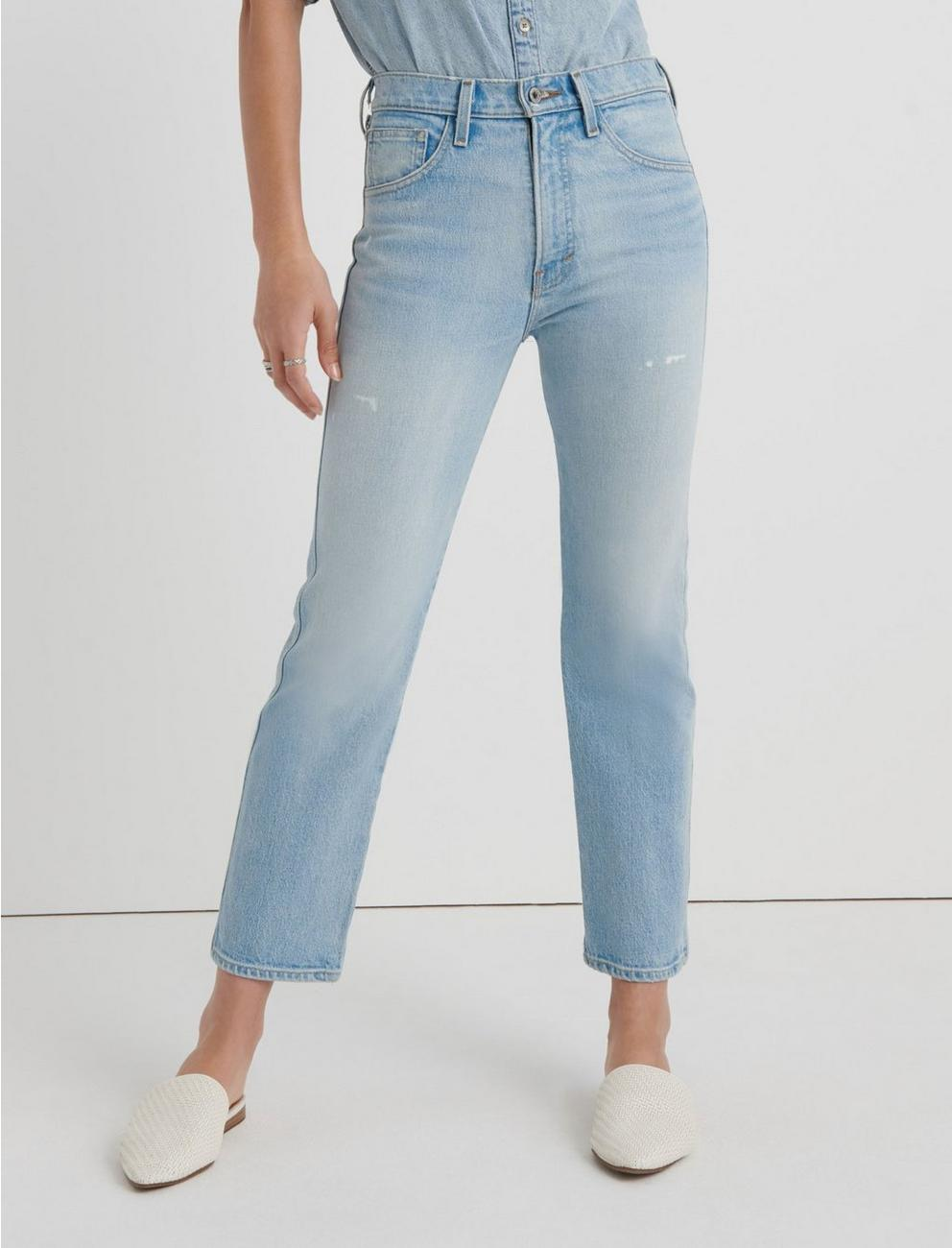 MID RISE AUTHENTIC STRAIGHT CROP JEAN,