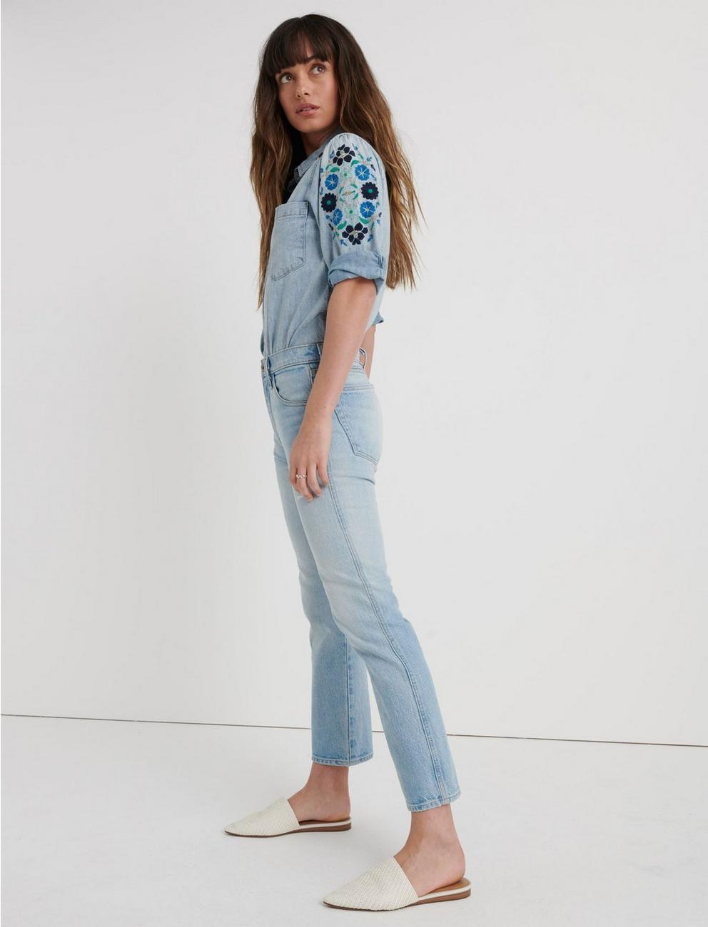 MID RISE AUTHENTIC STRAIGHT CROP JEAN, WILBARGER