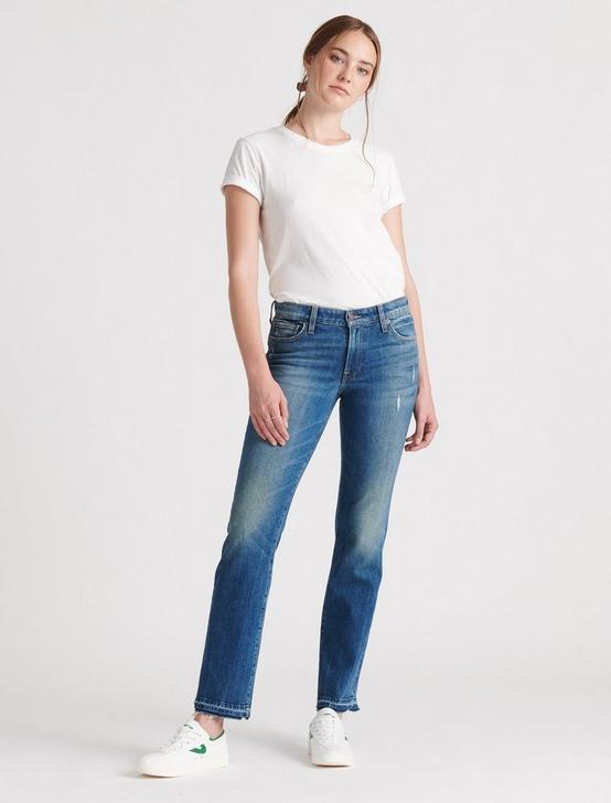 Mid Rise Sweet Straight Jean