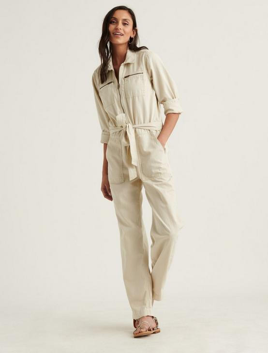 TIE FRONT JUMPSUIT, CRESCENT, productTileDesktop