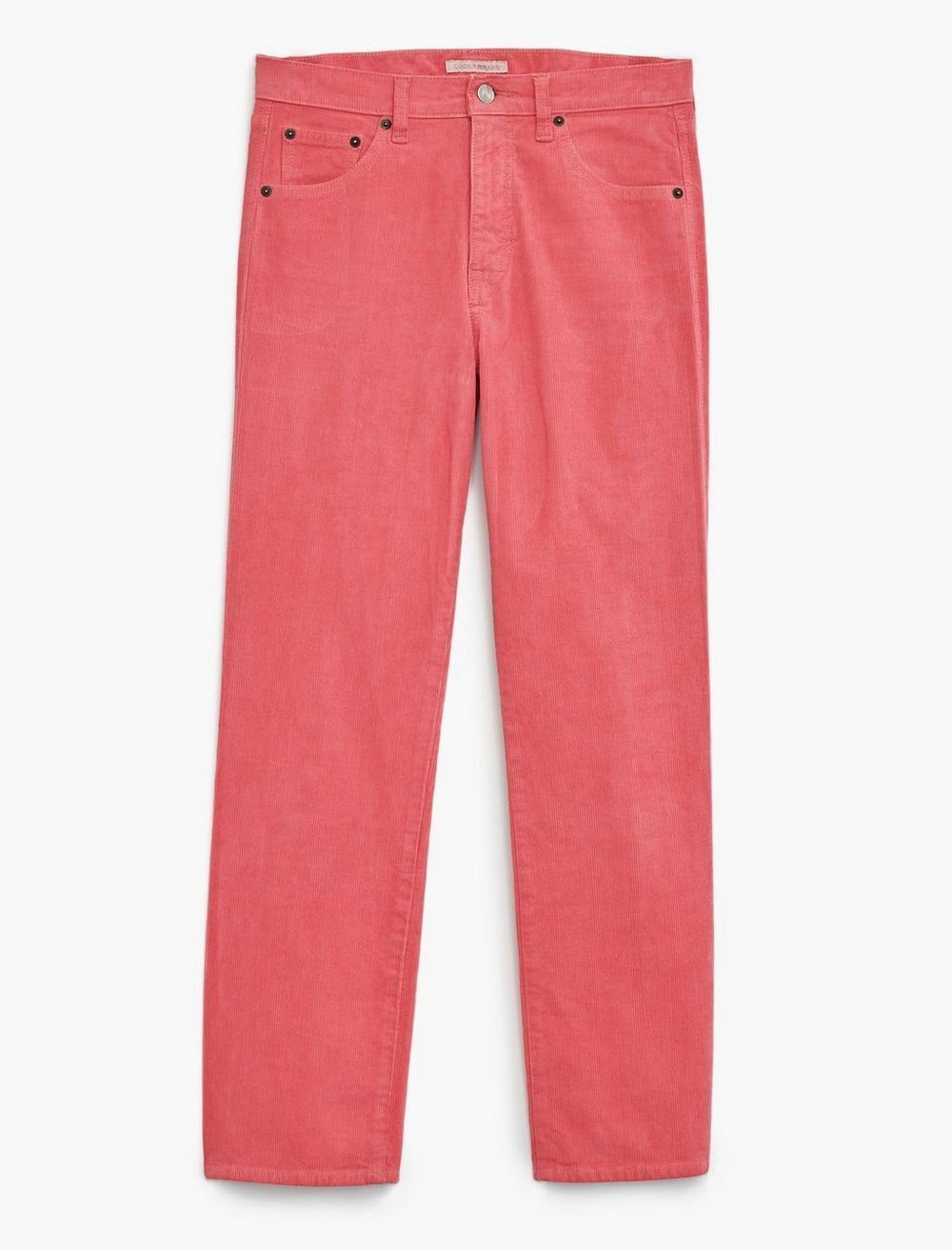 MID RISE AUTHENTIC STRAIGHT CROP CORDUROY JEAN, image 7