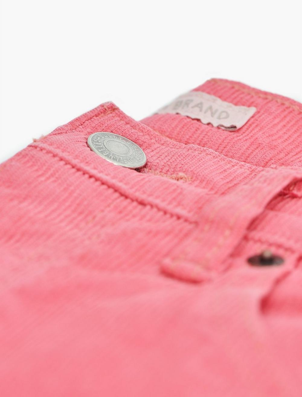 MID RISE AUTHENTIC STRAIGHT CROP CORDUROY JEAN, image 8