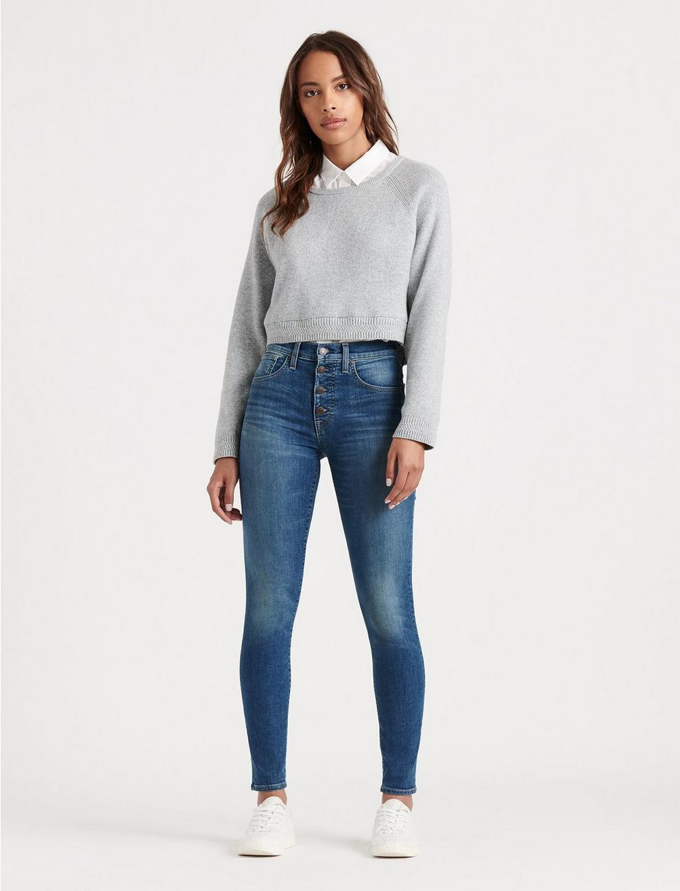 HIGH RISE BRIDGETTE SKINNY JEAN, RADIENT