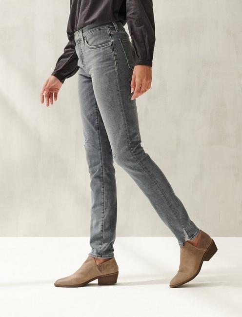 MID RISE AVA SKINNY JEAN, MILKY WAY DEST