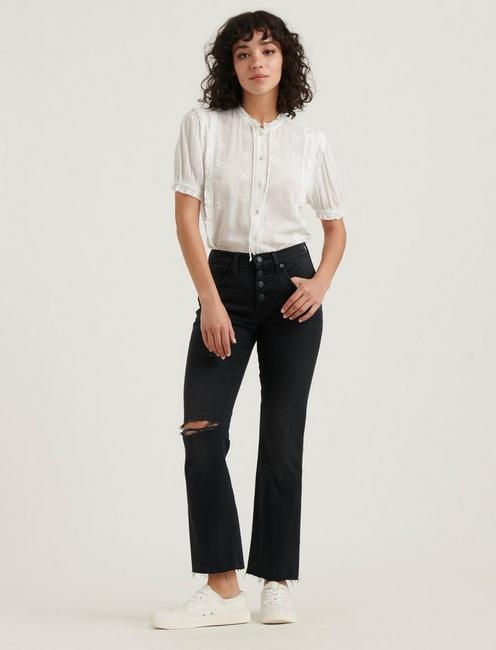 MID RISE AVA CROP MINI BOOT JEAN, MAGNETIC FRAY