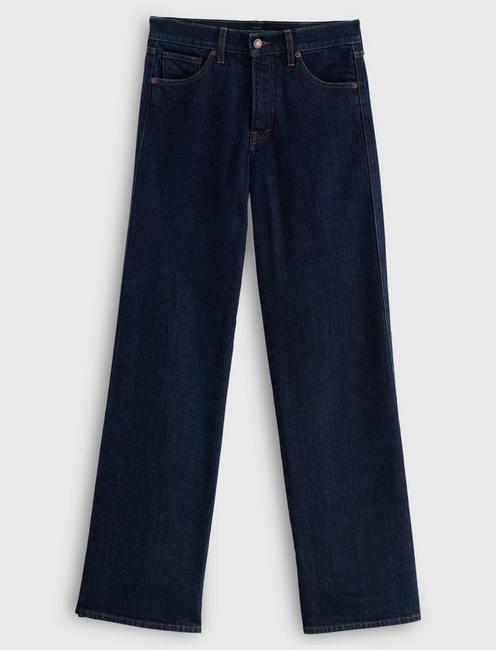 MID RISE AUTHENTIC WIDE LEG JEAN, CONTENT