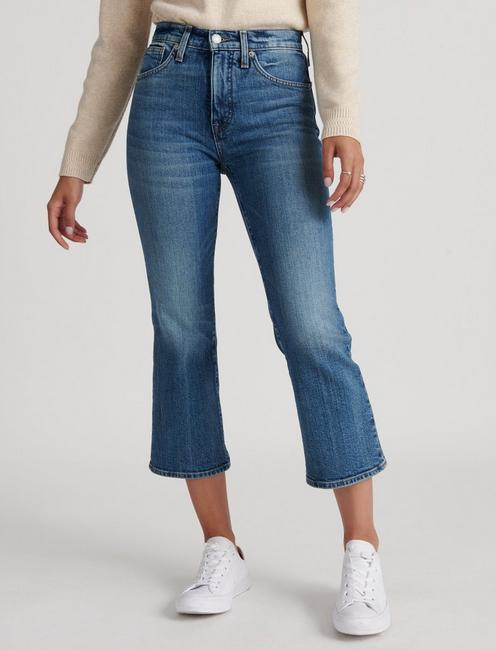 HIGH RISE BRIDGETTE CROP MINI BOOT JEAN, SASS