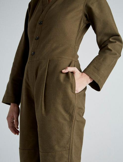 UTILITY COVERALL, HUDSON GREEN