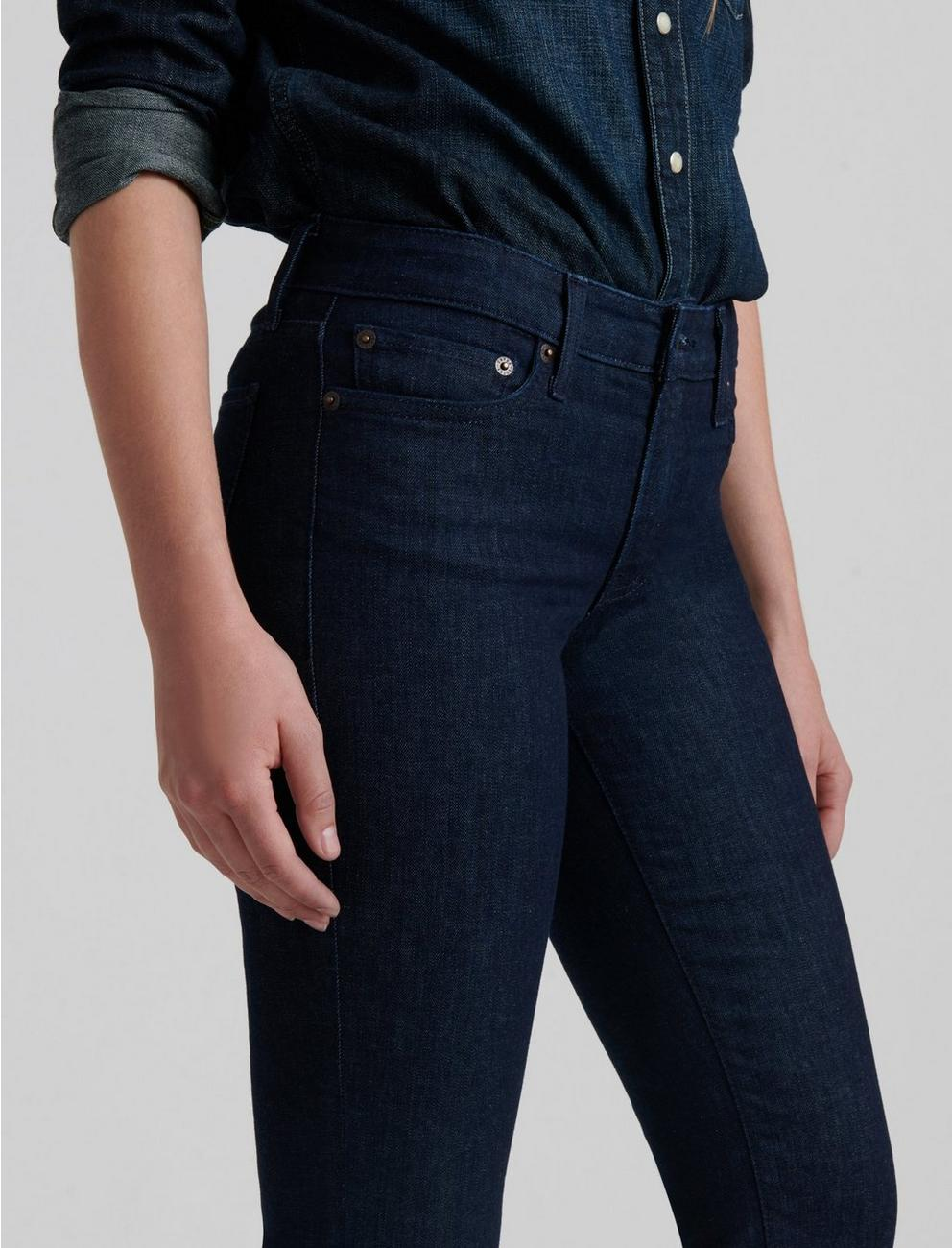 MID RISE SWEET STRAIGHT JEAN, ASTROID