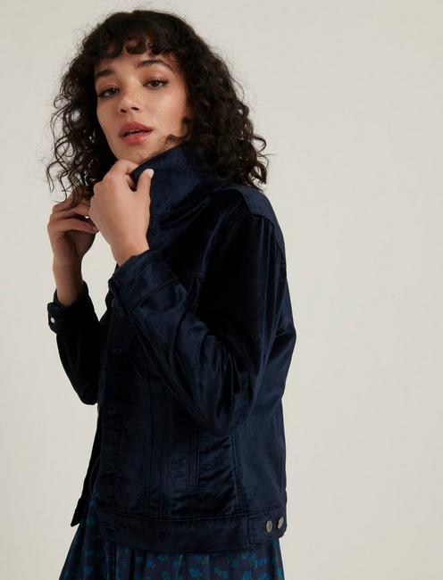THE TOMBOY VELVET TRUCKER, AMERICAN NAVY