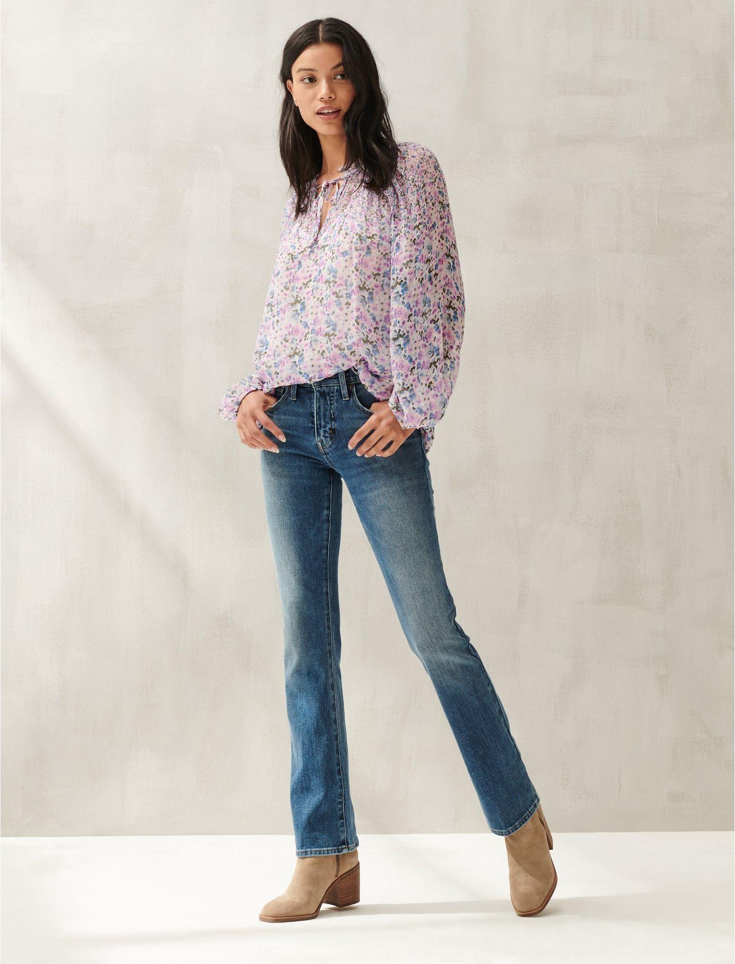 Lucky Brand Sweet /'n Low rise Boot Cut Women/'s Blue Jeans Sz 25 27 28 29 30 31