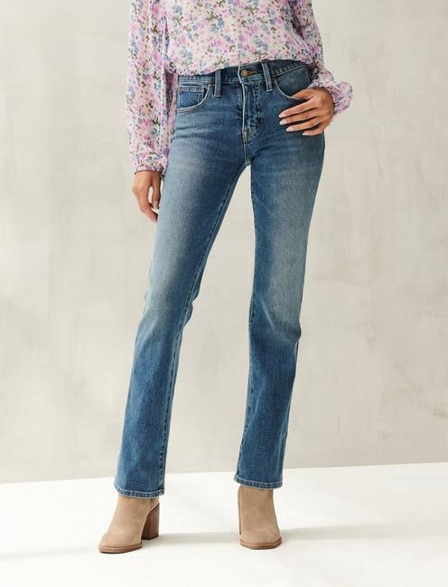 MID RISE AVA BOOT 4-WAY STRETCH JEAN, CRYSTAL RIVER