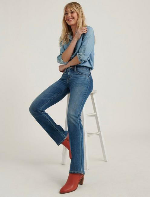 MID RISE AVA BOOT JEAN, CRYSTAL RIVER