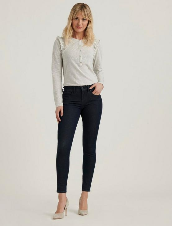 MID RISE AVA SUPER SKINNY JEAN, RINSE, productTileDesktop