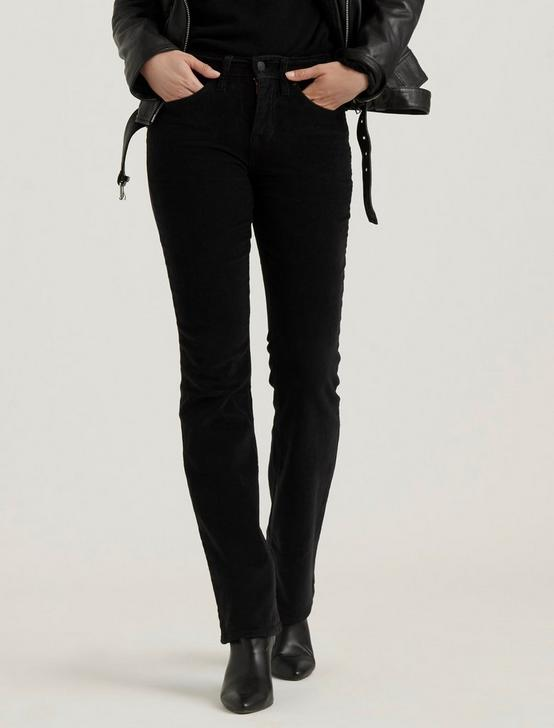 MID RISE AVA BOOT CORDUROY JEAN, 001 LUCKY BLACK, productTileDesktop