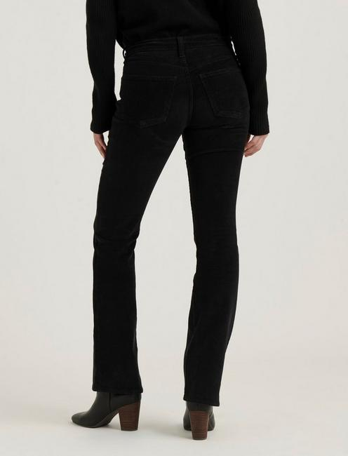 MID RISE AVA BOOT CORDUROY JEAN, 001 LUCKY BLACK