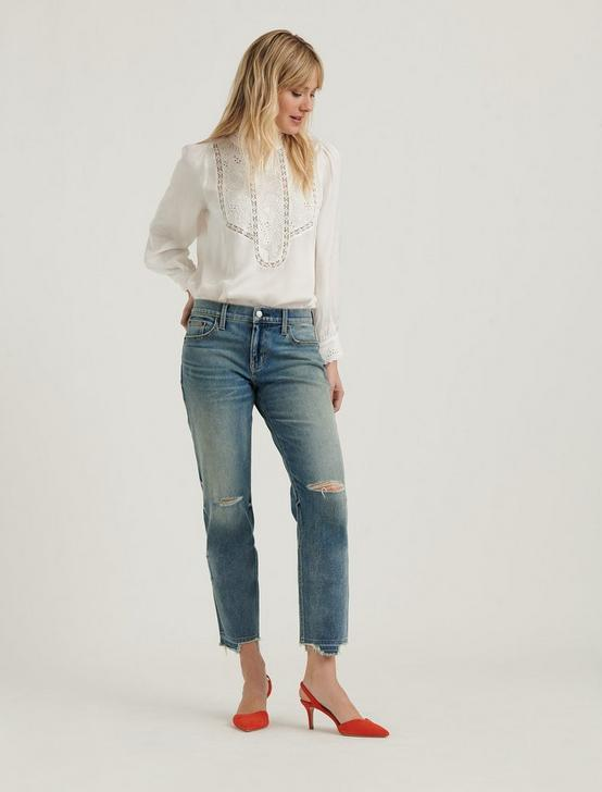 Mid Rise Sienna Boyfriend 4-Way Stretch Jean