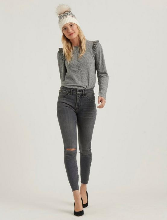 HIGH RISE BRIDGETTE SKINNY JEAN, BENOIT GREY DEST, productTileDesktop