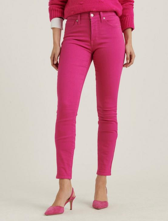 HIGH RISE BRIDGETTE SKINNY JEAN, JULIET PINK, productTileDesktop