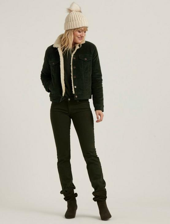 TOMBOY SHERPA TRUCKER, FERN LEAF, productTileDesktop