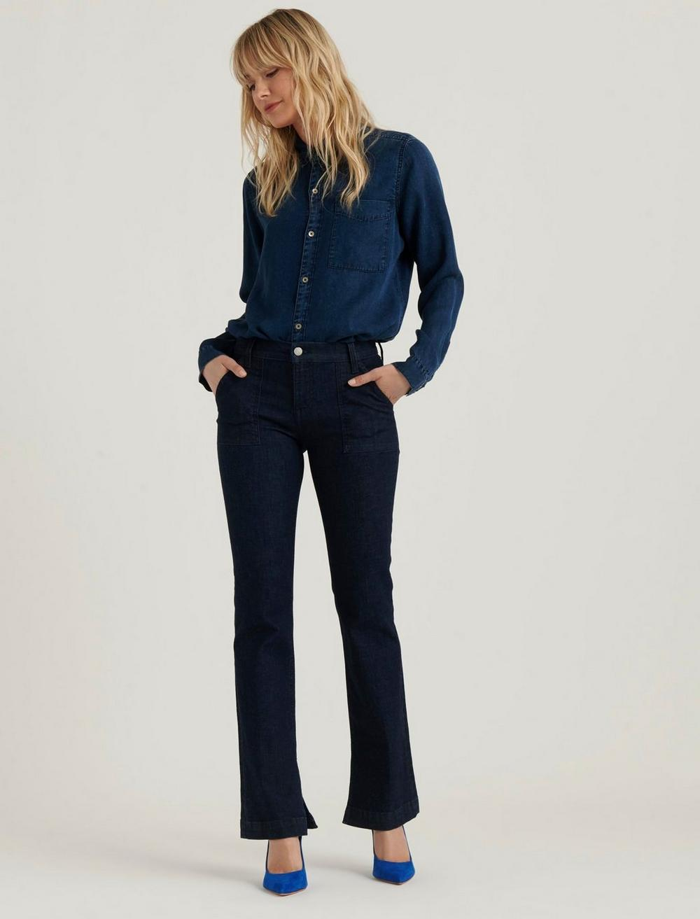 MID RISE AVA BOOT JEAN, image 1