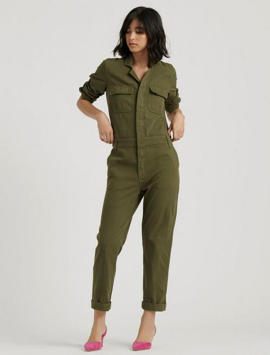 BOILER SUIT, PALM GREEN, productTileDesktop
