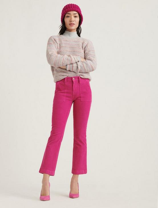 MID RISE AVA CROP MINI BOOT CORDUROY JEAN, JULIET PINK, productTileDesktop
