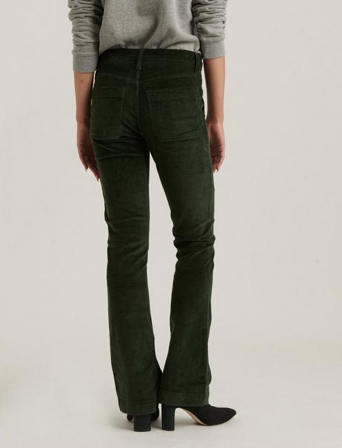 MID RISE AVA BOOT JEAN, FERN LEAF