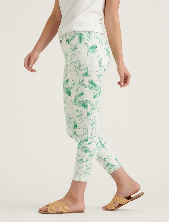 LOW RISE LOLITA CROP JEAN, GREEN FLORAL, productTileDesktop