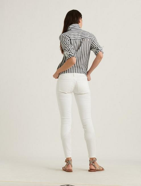 LOW RISE LOLITA SKINNY JEAN, CLEAN WHITE