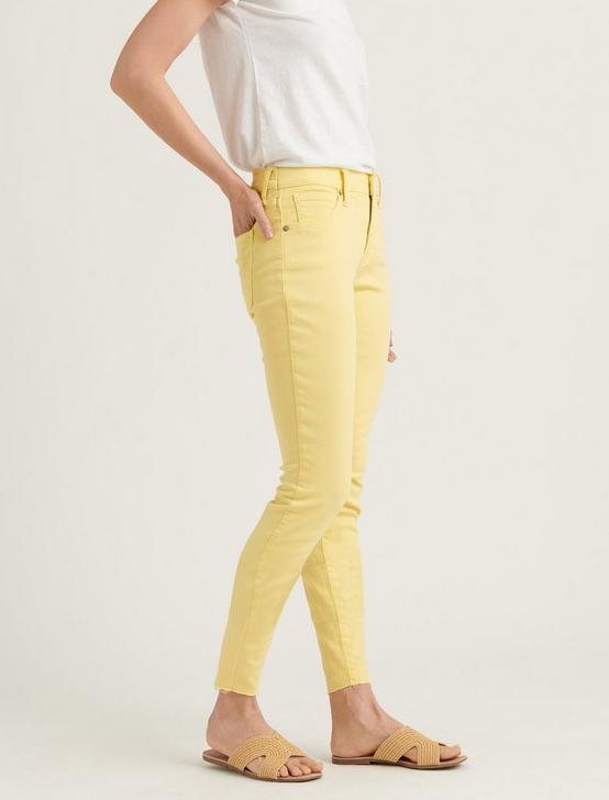 MID RISE AVA CROP JEAN, MELLOW YELLOW CT, productTileDesktop