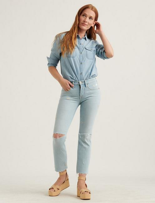 MID RISE AVA CROP MINI BOOT JEAN, LUNA CT
