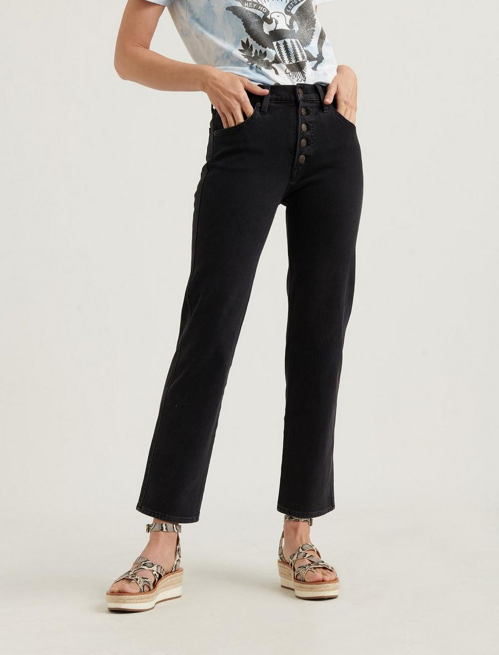 MID RISE AUTHENTIC STRAIGHT JEAN, image 5