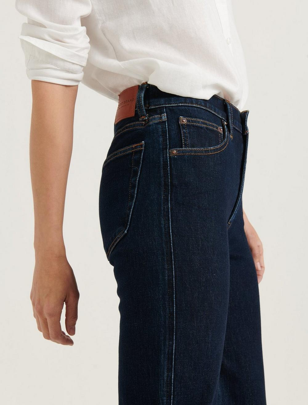MID RISE AUTHENTIC STRAIGHT JEAN, image 4