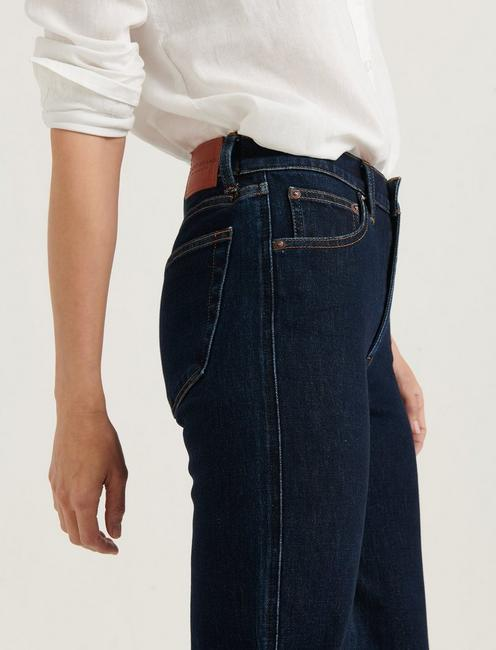 MID RISE AUTHENTIC STRAIGHT JEAN, TEMPO