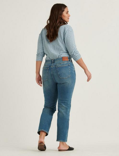 MID RISE AUTHENTIC STRAIGHT JEAN, PROGRESS