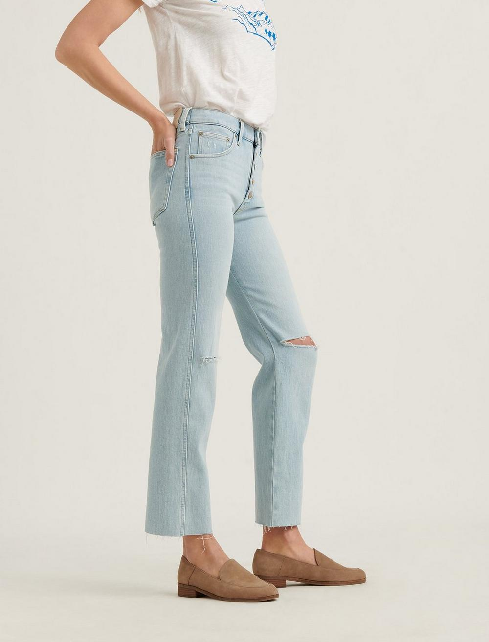 MID RISE AUTHENTIC STRAIGHT JEAN, image 2
