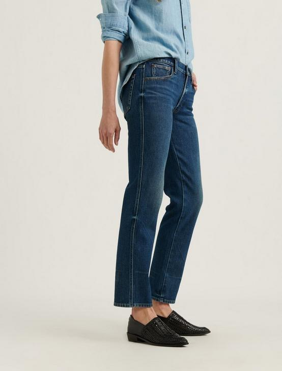MID RISE AUTHENTIC STRAIGHT JEAN, ROCCO, productTileDesktop