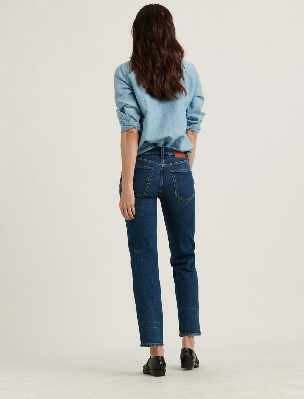 MID RISE AUTHENTIC STRAIGHT JEAN, image 3