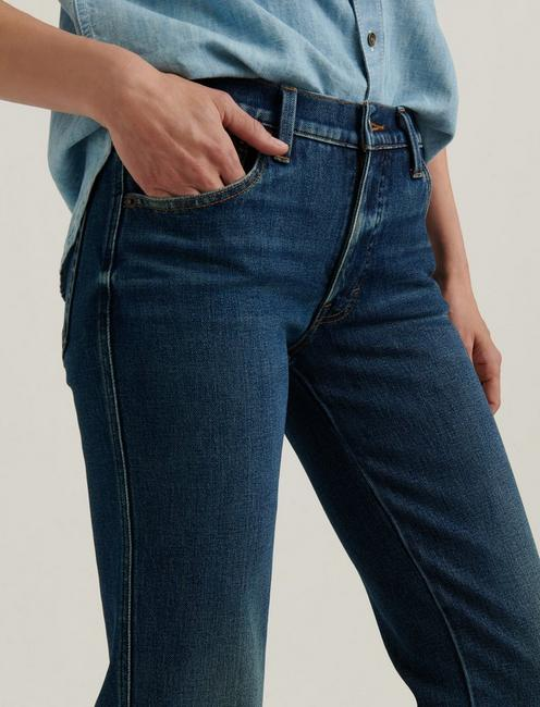 MID RISE AUTHENTIC STRAIGHT JEAN, ROCCO