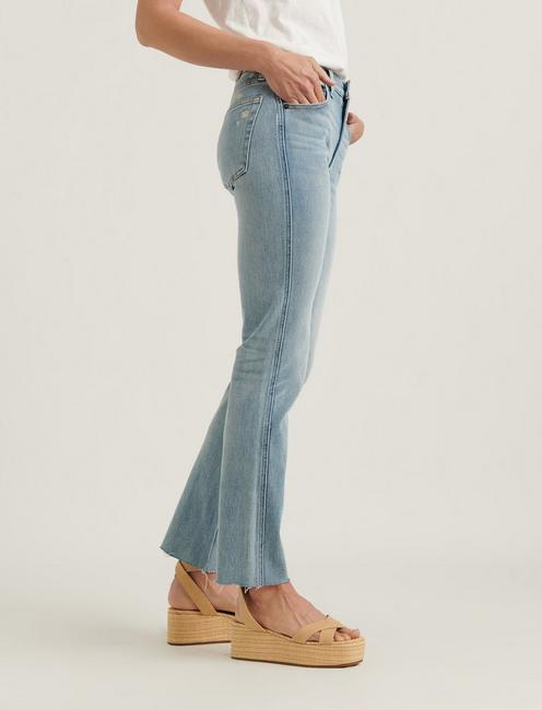 MID RISE AUTHENTIC STRAIGHT 4-WAY STRETCH JEAN, REVERENCE CT