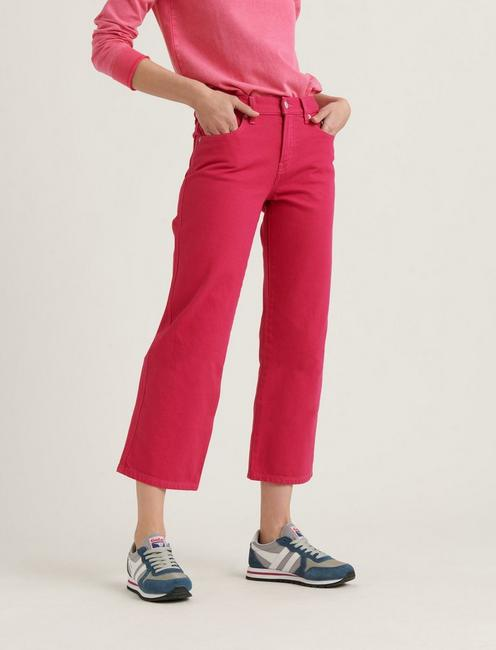 MID RISE CROP WIDE LEG JEAN, CHERRIES JUBILEE