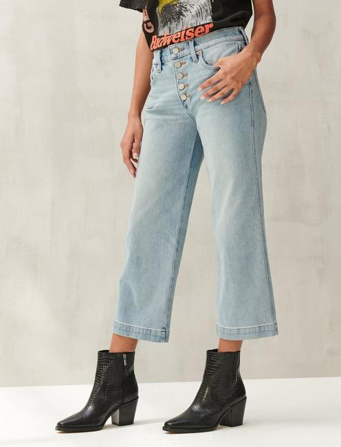 MID RISE CROP WIDE LEG 4-WAY STRETCH JEAN, REVERENCE