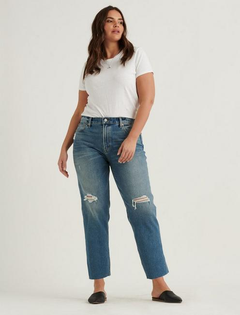 MID RISE BOYFRIEND JEAN, PROGRESS DEST CT