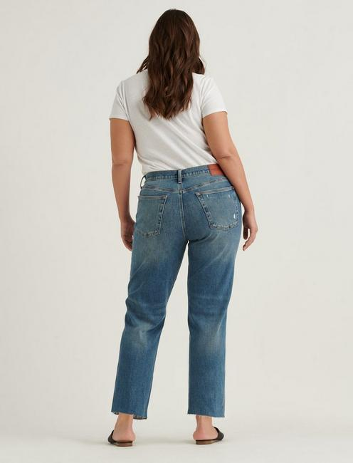 MID RISE BOYFRIEND 4-WAY STRETCH JEAN, PROGRESS DEST CT