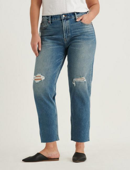RELAXED TAPER 4-WAY STRETCH JEAN, PROGRESS DEST CT