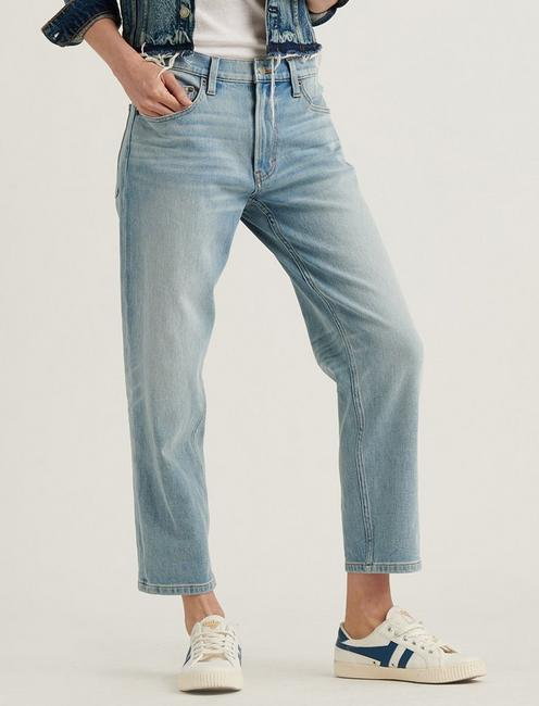 MID RISE BOYFRIEND 4-WAY STRETCH JEAN, REVERENCE