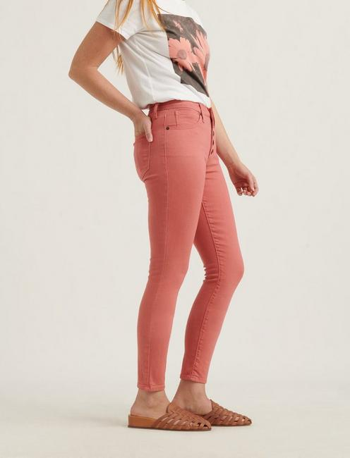 HIGH RISE BRIDGETTE CROP JEAN, FADED ROSE