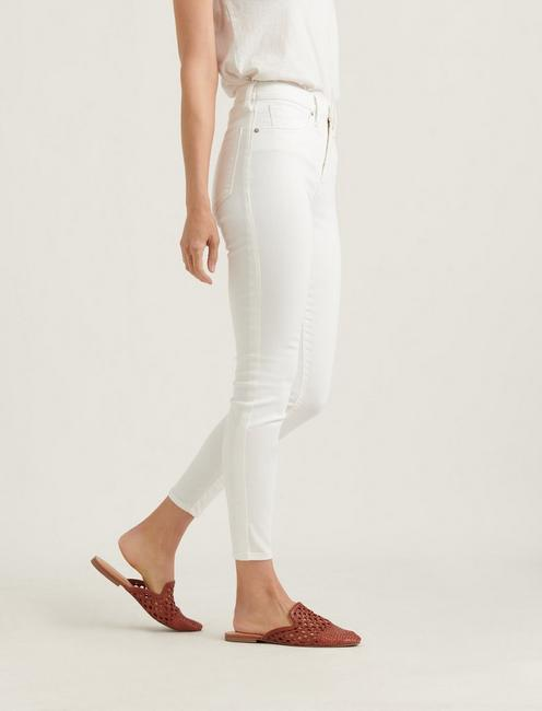 HIGH RISE BRIDGETTE SKINNY JEAN, CLEAN WHITE
