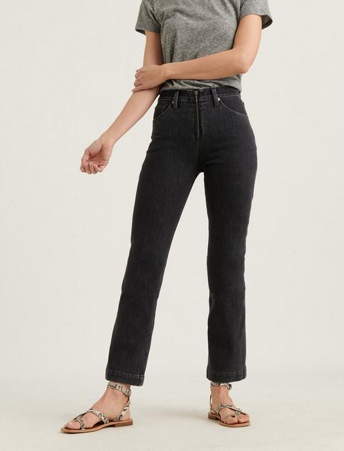 HIGH RISE BRIDGETTE CROP MINI BOOT 4-WAY STRETCH JEAN, PRAGUE
